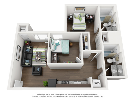 University Of Nebraska Lincoln Apartments 2 Bed 2 Bath
