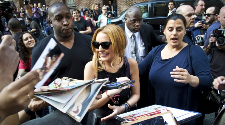 Oprah Winfrey and Lindsay Lohan, Together Again for Hopefully the Last Time.