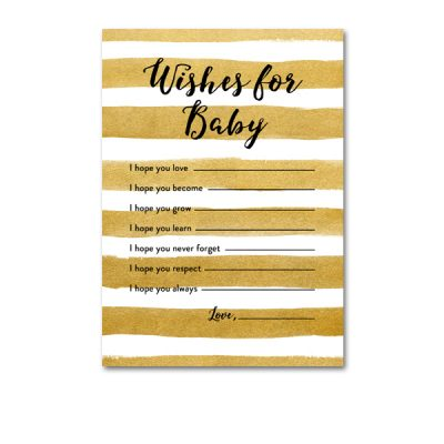 Baby-Shower-Printable-Gold-Foil-Wishes-For-Baby