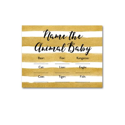 Baby-Shower-Printable-Gold-Foil-Animal-Baby