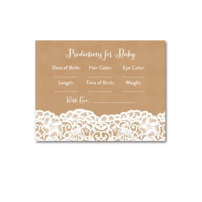 Baby-Shower-Kraft-Lace-Predicitons