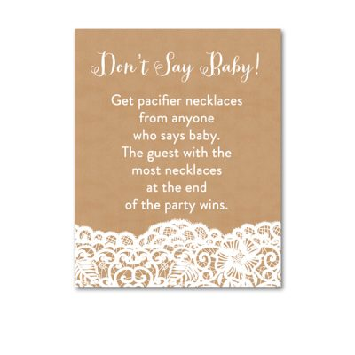 Baby-Shower-Kraft-Lace-Dont-Say-Baby