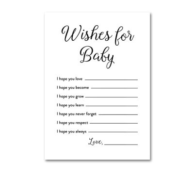 Baby-Shower-Printable-Elegant-Black-And-White-Wishes