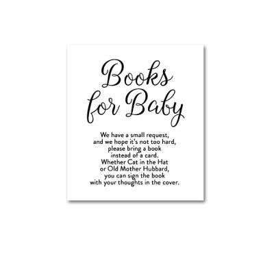 Baby-Shower-Printable-Elegant-Black-And-White-Books-For-Baby