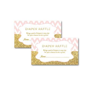 Baby-Shower-Printable-Pink-Gold-Chevron-Diaper-Raffle