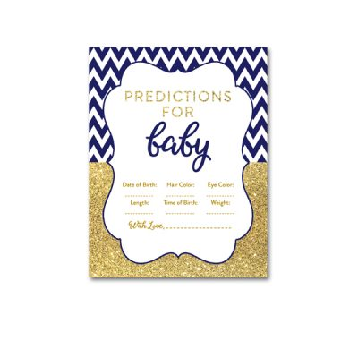 Baby-Shower-Printable-Navy-Gold-Predcitions