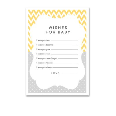 Baby-Shower-Yellow-Gray-Wishes-For-Baby
