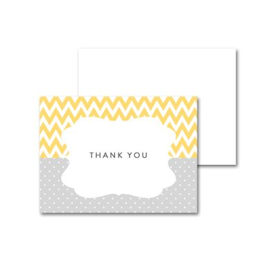 Baby-Shower-Yellow-Gray-Thank-You