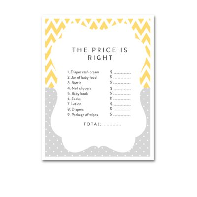 Baby-Shower-Yellow-Gray-Price-Is-Right