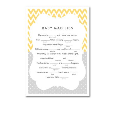 Baby-Shower-Yellow-Gray-Baby-Mad-Libs