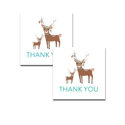 Baby-Shower-Tribal-Deer-Thank-You-Tag