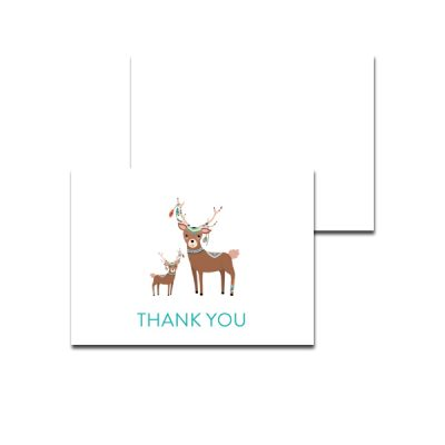 Baby-Shower-Tribal-Deer-Thank-You-Card