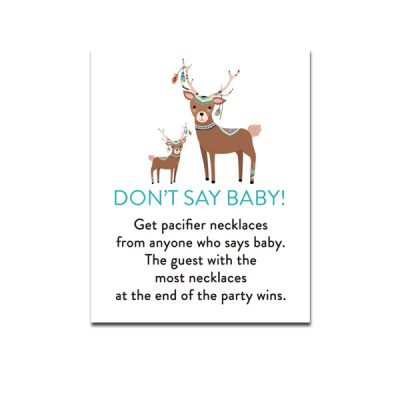 Baby-Shower-Tribal-Deer-Dont-Say-Baby