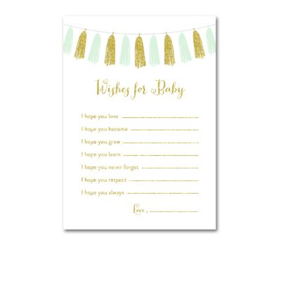 Baby-Shower-Printable-Mint-Gold-Tassel-Wishes-For-Baby