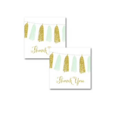 Baby-Shower-Printable-Mint-Gold-Tassel-Thank-You-Tags