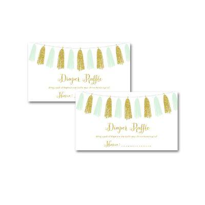 Baby-Shower-Printable-Mint-Gold-Tassel-Diaper-Raffle