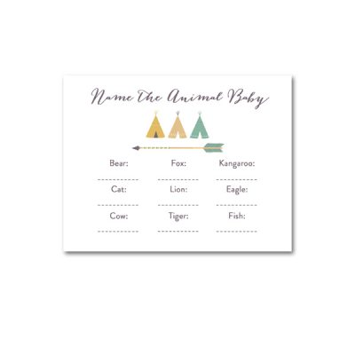 Baby-Shower-Arrow-Tribal-Name-The-Animal-BAby