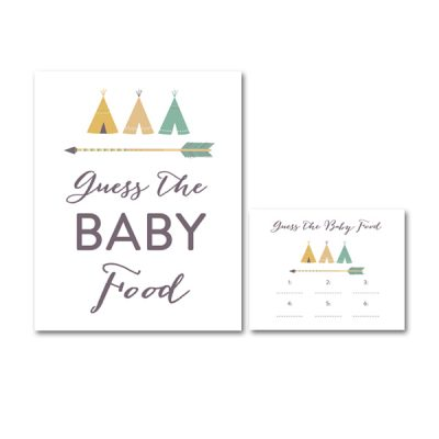 Baby-Shower-Arrow-Tribal-Guess-The-Baby-Food