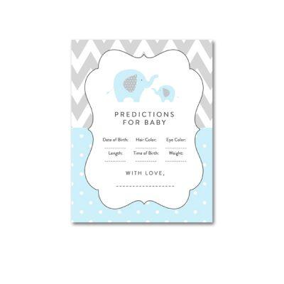 Baby-Shower-Printable-Blue-Gray-Elephant-Predictions
