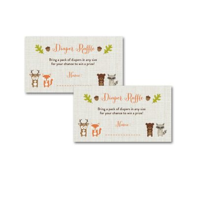 Woodland-Animals-Baby-Shower-Diaper-Raffle-Ticket