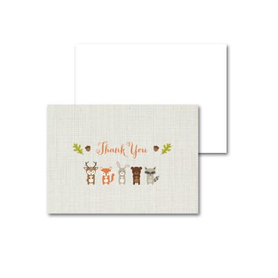 Woodland-Animals-Baby-Shower-Thank-You-Card