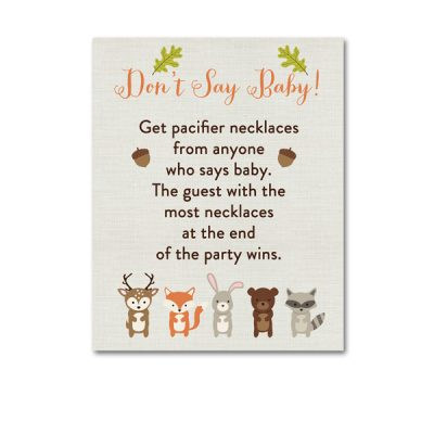 Woodland-Animals-Baby-Shower-Dont-Say-Baby