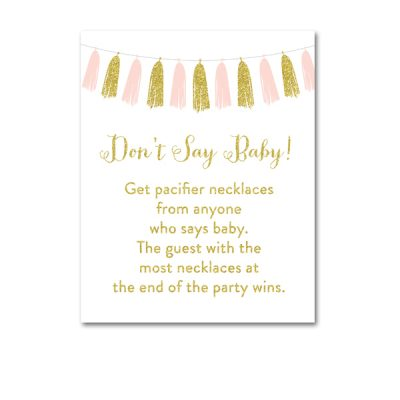 Baby-Shower-Pink-Gold-Tassle-Dont-Say-Baby