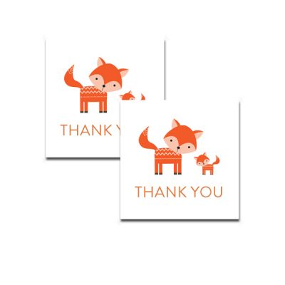 Baby-Shower-Cute-Woodland-Fox-Thank-You-Tag