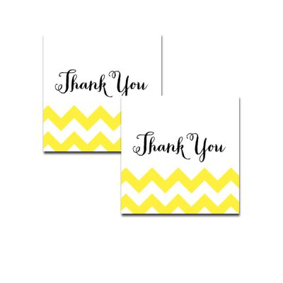 Baby-Shower-Yellow-Chevron-Thank-You-Tag
