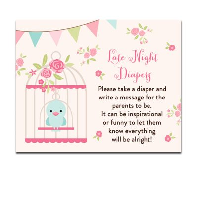 Baby-Shower-Bird-Cage-Late-Night-Diapers