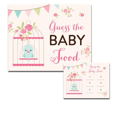 Baby-Shower-Bird-Cage-Guess-Baby-Food