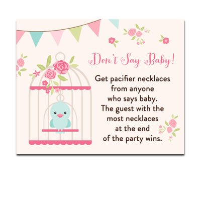 Baby-Shower-Bird-Cage-Dont-Say-Baby