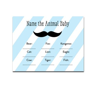 Blue-Mustache-Name-The-Animal-Baby
