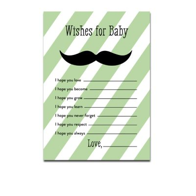 Green-Mustache-Wishes-For-Baby