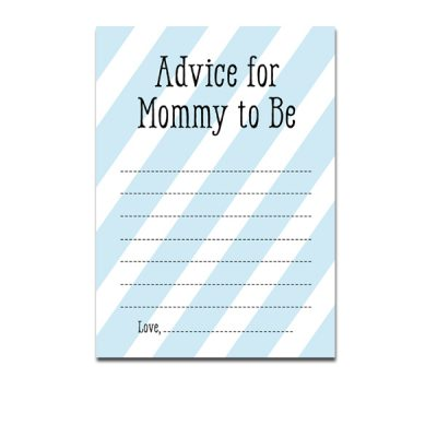 Baby-Shower-Blue-Boy-Advice-For-Mommy