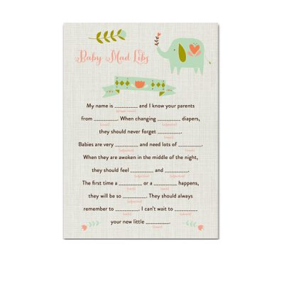 Aqua-Elephant-Baby-Shower-Baby-Mad-Libs