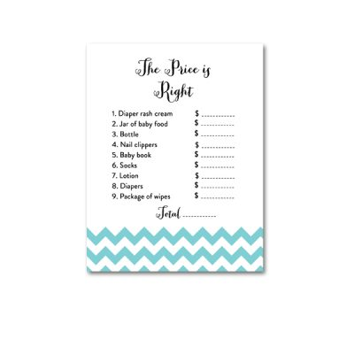 Baby-Shower-Blue-Chevron-The-Price-Is-Right