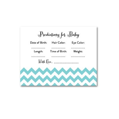 Baby-Shower-Blue-Chevron-Predictions-For-Baby