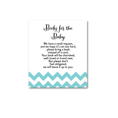 Baby-Shower-Blue-Chevron-Books-For-Baby