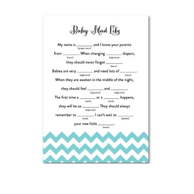 Baby-Shower-Blue-Chevron-Baby-Mad-Libs