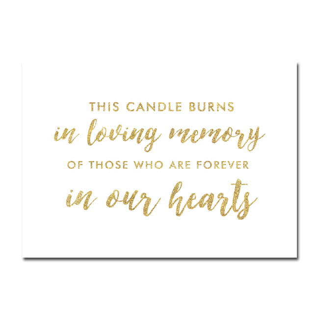 It is a graphic of Exceptional This Candle Burns in Loving Memory Free Printable