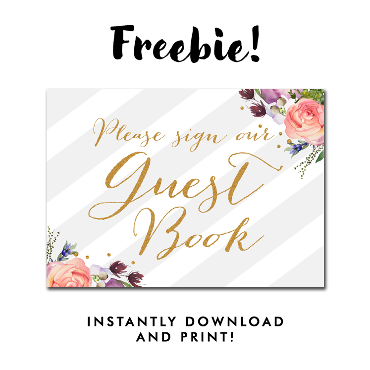 image about Please Sign Our Guestbook Free Printable called visitor ebook printables -