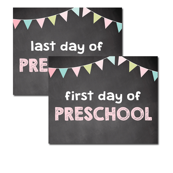 It's just a photo of Impeccable Last Day of Preschool Printable
