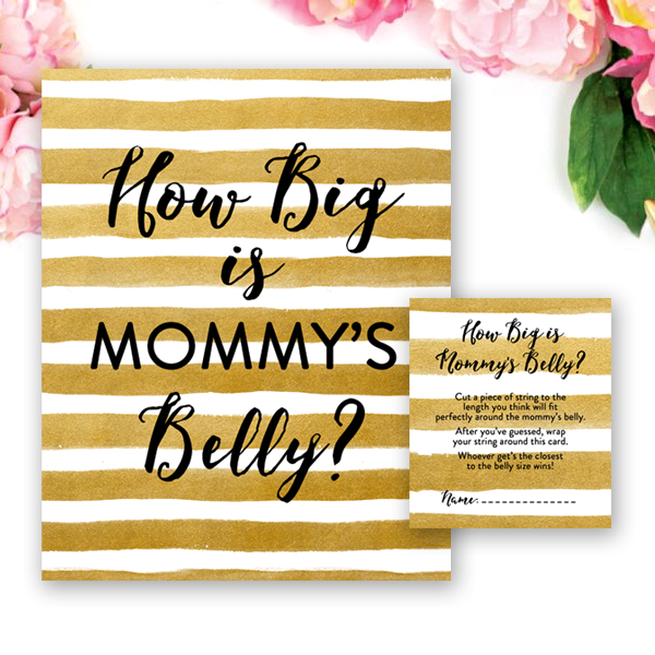 This is a photo of Ambitious How Big is Mommy's Belly Free Printable