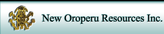 New Oroperu Resources Inc. (TSXV:ORO)