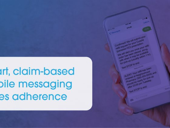 Smart mobile messaging drives adherence