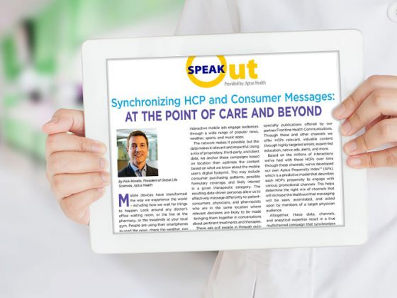 Synchronizing HCP and Consumer Messages: At The Point of Care and Beyond