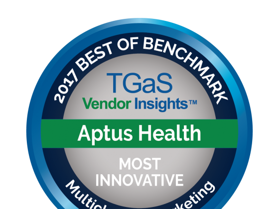 "Aptus Health Named ""Most Innovative"" by Biopharma According to TGaS Survey"