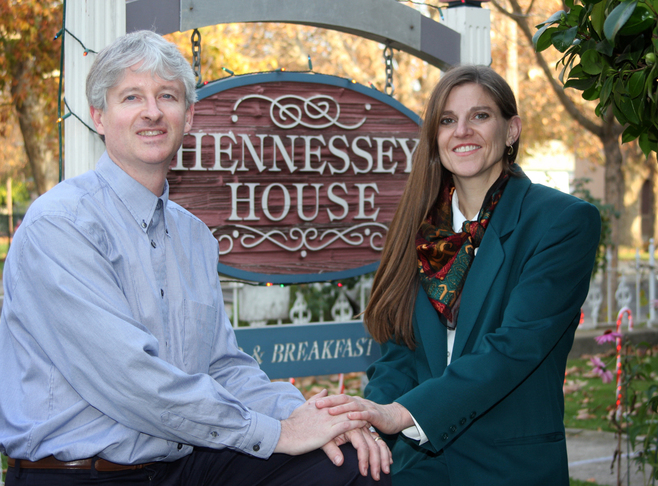 Welcome to Hennessey House! Innkeeper Photo