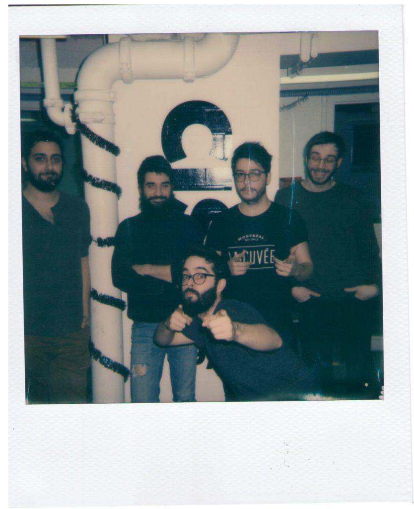 Autruche en Polaroid